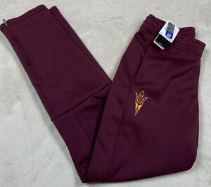 NWT'S Adidas Game Mode Arizona State Sun Devils NCAA Sideline Pants Players LT