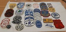Various Vintage Hockey League Tournament Crests Patches Ontario Canada