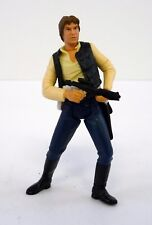 Star Wars Han Solo Power of the Jedi Action Figure Complete C9+ 2001