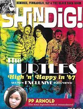 SHINDIG! ISSUE #68 JUNE 2017 THE TURTLES JOHN MAYALL JIMI HENDRIX PP ARNOLD