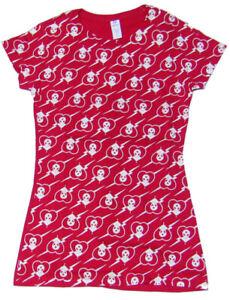 Alien Workshop Womens Shirt Heart Attack RED SZ M