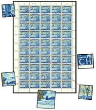 Österreich Nr. 983 postfrisch Bogen mit 5 Plattenfehlern