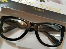NEW +1.50 Betsey Johnson ⚫ Black ⚫ Thick Frame Reading Glasses.