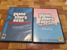 Grand Theft Auto Double Pack: Liberty City Stories/Vice City Stories Ps2 Rare