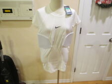 Nike Pro Combat Hyperstrong Padded Football Shirt White XL short 806900 New NWT
