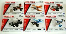 Erector By Meccano Engineering & Robotics Construction Set Lot (6) FREE S/H