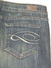 Paige Premium Jeans Laurel Canyon Boot Stretch Dark Sz 27