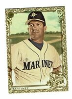 2019 Topps Allen & Ginter Gold #58 Edgar Martinez Seattle Mariners