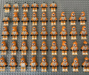 Huge Genuine Star Wars Clone Bomb Squad Trooper Minifigure Bundle sw0299 - Read