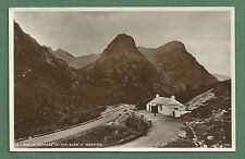 1930'S RP PC LONELY COTTAGE IN THE GLEN O' WEEPING - GLEN COE