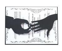 Stanzschablone Verlobung Ring Finger Hochzeit Weihnachten Geburtstag Karte Album