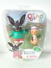 Bing Bunny Toy Figures Autumn Day Bing and Flop Fisher Price 2015 - Opened Pack