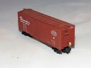 N Scale NYC Pacemaker 168658 Box Car - Custom Battery Operated w/ Rear Red Light
