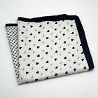 32 x 32 CM Large Handkerchief Man Paisley Flower Dot Pocket Square Hankies
