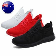 Men's Athletic Running Sneakers Breathable Lightweight Sport Casual Tennis Shoes