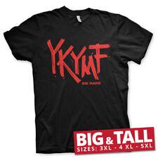 Officially Licensed Die Hard - Ykymf Big & Tall 3Xl, 4Xl, 5Xl Men's T-Shirt
