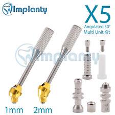 5 Standard Angled Multi Unit Abutment 30° Kit Dental Implant Internal Hex