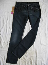Replay Damen Blue Jeans Denim W29/L34 extra low waist regular fit straight leg