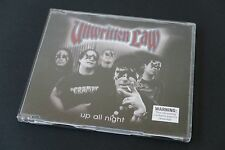 Unwritten Law Up All Night Australian 3 Track CD Single - used CD