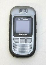 Samsung Convoy Sch-U640 Cell Phones Gray (Verizon) Flip Phone