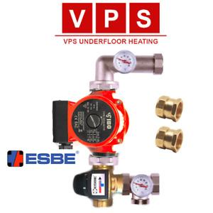ESBE Wet Underfloor Heating Manifold Control Pack Blending Valve - for Water UFH