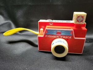 Vintage Fisher Price Changeable Picture Disc Camera