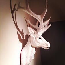 LARGE Unique decoration Stag Head Taxidermy Deer 'Pure'