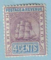 BRITISH GUIANA 135  MINT HINGED OG * NO FAULTS EXTRA FINE!