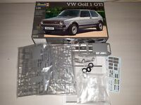 VW GOLF 1 GTI -07072- KIT MONTAGGIO REVELL SCALA 1:24