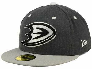Official NHL Anaheim Ducks New Era 59FIFTY Fitted Hat