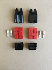 DC 50 Amp RED Anderson type plug+Dust Cover,4WD,Caravan,Boat,Battery,Automotive