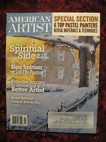AMERICAN ARTIST magazine February 2010 Neal Hughes Tom Perkinson Arturo Garcia