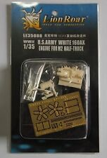 Photo-Etched 1/35 WWII U.S.Army White 160AX Engine for M2/M3 Half Track LE35088