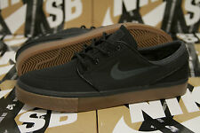 Nike SB Zoom Stefan Janoski - Black Canvas / Anthracite Gum - 333824 020 SZ 9