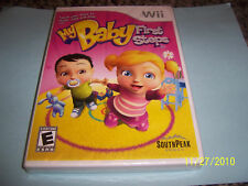 My Baby First Steps  (Wii, 2009) NEW