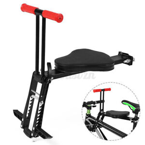 Foldable Baby Child Bicycle Seat Bike Front Safety Carrier Stable Saddle Chair