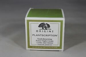 Origins Plantscription Youth-renewing Power Night Cream 1.7 oz FRESH New in box