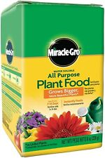 Miracle Gro All Purpose Plant Food Grow Flowers Vegetables Fertilizer Garden 8oz
