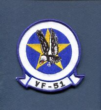 VF-51 SCREAMING EAGLES US NAVY F-8 CRUSADER F-14 TOMCAT Fighter Squadron Patch