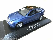 Mercedes  Benz   C Klasse Coupe  blau met. .. Minichamps 1:43  in OVP#4058