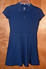 GIRL`S SIZE (  8  )* OLD  NAVY*  DARK  BLUE  FULL SKIRT  DRESS NWT