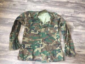 US ERDL RDF Camouflage Jacket Shirt Vietnam Airborne Ranger USGI camo