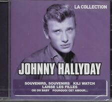 "JOHNNY HALLYDAY ALBUM 1 CD ""LA COLLECTION* 18 TITRES  NEUF SOUS BLISTER"