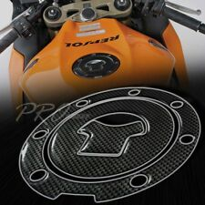 Gas Tank Fuel Cap Cover Protector Pad for 03+ CBR-1000RR/600RR Carbon Fiber Look