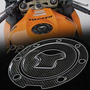 Gas Tank Fuel Cap Cover Protector Pad for 03+ CBR-1000RR/600RR Carbon Fiber Look