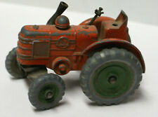 Dinky Toys Field Marshall Orange Tractor Green Metal Wheels 301  Toy Tractor