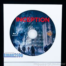Inception (Blu-ray, 2010) BLU-RAY DISC ONLY...CASE & ARTWORK NOT INCLUDED