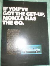 Opel Monza brochure Jul 1978