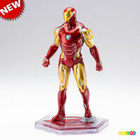 Disney Store AVENGERS IRON-MAN NANO SUIT Cake Topper Figure Toy Marvel End Game
