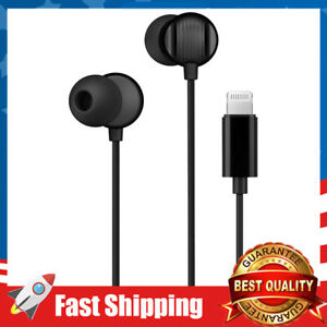 Headphones Earbuds w/ Microphone Controller Sound Isolation for iPhone